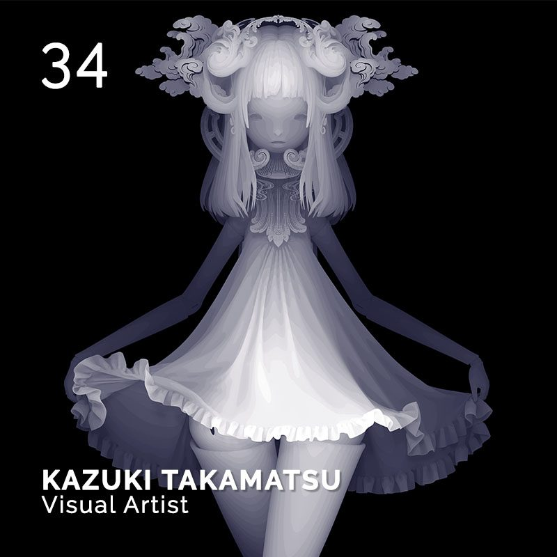 Glamour Affair Vision N.1 | 2019-01 - KAZUKI TAKAMATSU Visual Artist - pag. 34