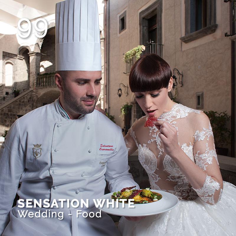 Glamour Affair Vision N.1 | 2019-01 - SENSATION WHITE Wedding - Food - pag. 99