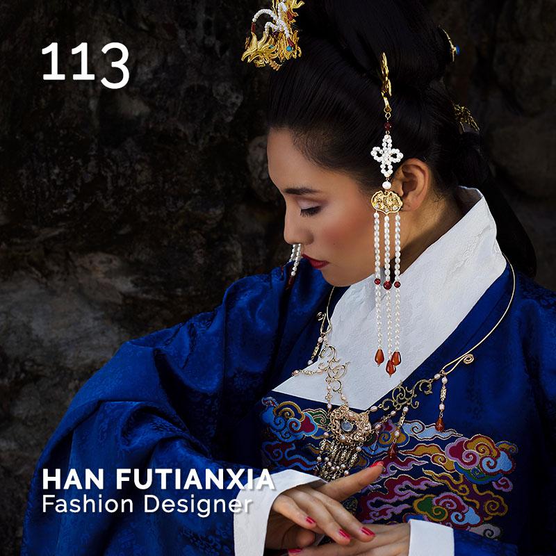 Glamour Affair Vision N.1 | 2019-01 - HAN FUTIANXIA Fashion Designer - pag. 113