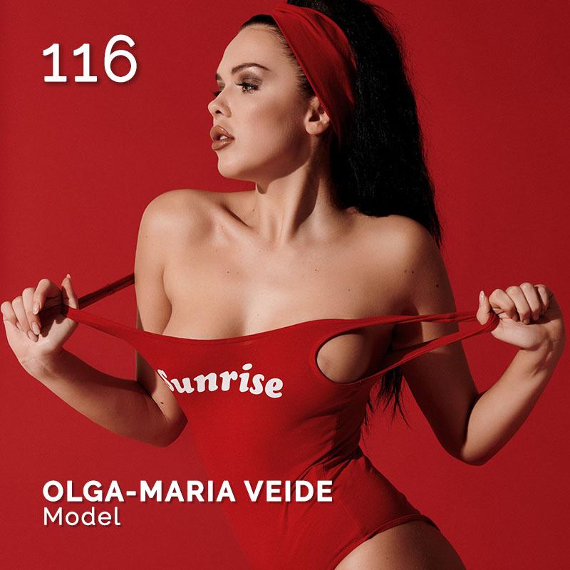 Glamour Affair Vision N.2 | 2019-02 - OLGA-MARIA VEIDE Model - pag. 116