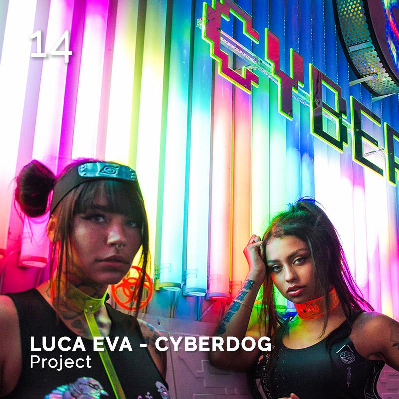 Glamour Affair Vision N.3 | 2019-03 - LUCA EVA - CYBERDOG Project - pag. 14