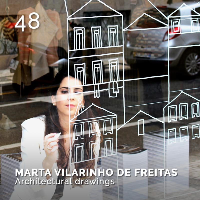 Glamour Affair Vision N.4 | 2019-07.08 - MARTA VILARINHO DE FREITAS Architectural drawing - pag. 48