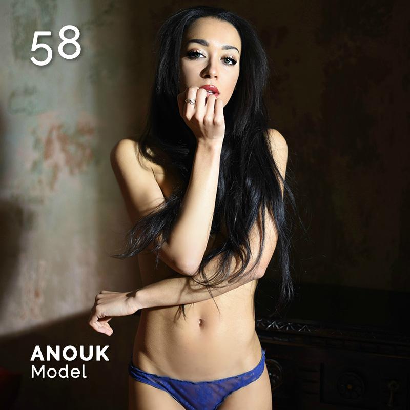 Glamour Affair Vision N.4 | 2019-07.08 - ANOUK Model - pag. 58