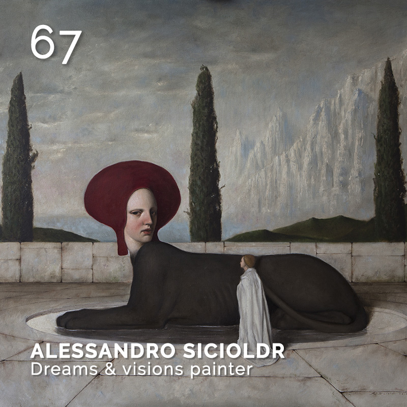 Glamour Affair Vision N.4 | 2019-07.08 - ALESSANDRO SICIOLDR Dreams & visions painter - pag. 67