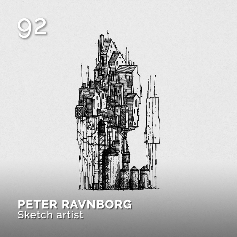 Glamour Affair Vision N.4 | 2019-07.08 - PETER RAVNBORG Sketch artist - pag. 92